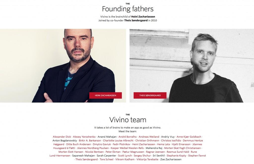 Heini Zachariessen y Theis Søndergaard fundadores de Vivino.