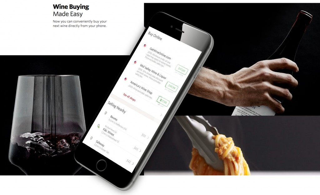 """Wine Buying. Made easy"". Vivino."