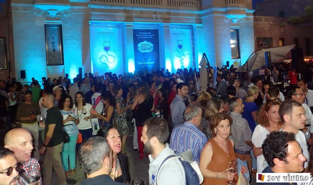 Más de 2.200 personas asistieron al Winecanting Summer Festival 2015.