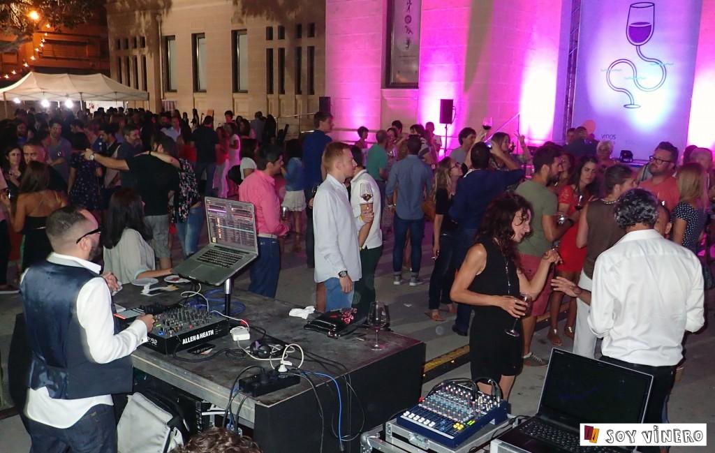 Música en directo en el Winecanting Summer Festival 2015.