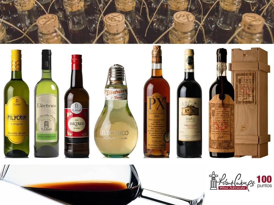 Variedades de vinos de la bodega Toro Albalá. Foto: bodega Toro Albalá.