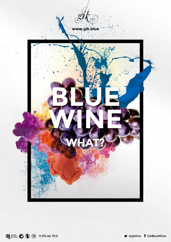 """""""Vino azul. ¿Qué?"""""""