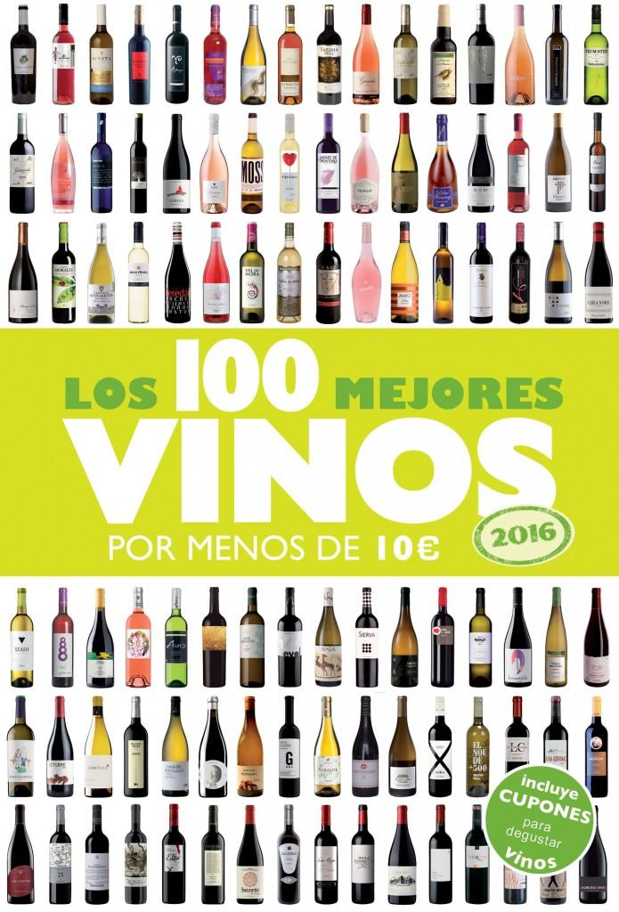 """""""Los 100 vinos por menos de 10 €"""" (GeoPlaneta) de Alicia Estrada."""