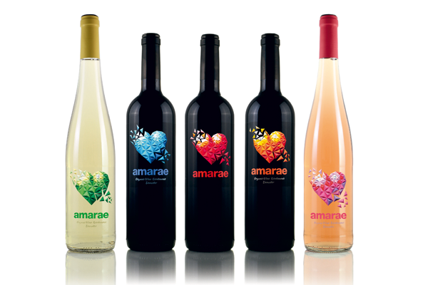 Serie de vinos amarae de bodegas Francisco Gómez, Villena.