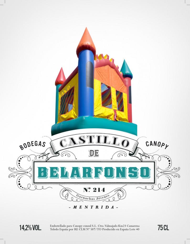 Castillo de Belarfonso. Bodegas Canopy.