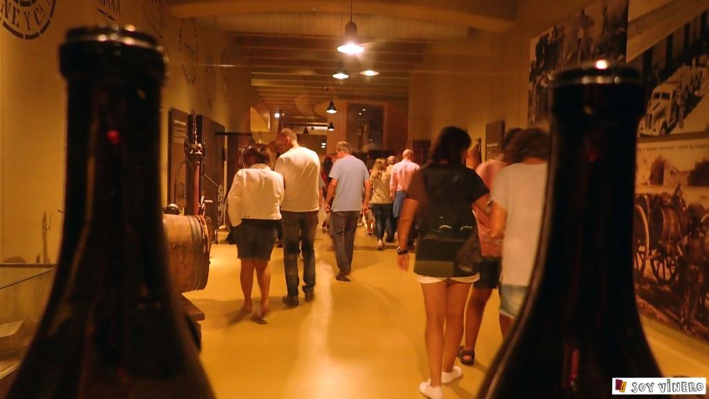 Sala 3. La bodega el sueño. Museo Vivanco de la Cultura del Vino.