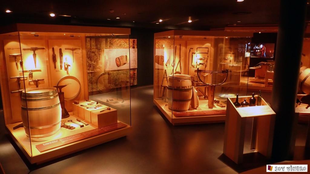 Sala 2. Guardar las esencias. Museo Vivanco de la Cultura del Vino.