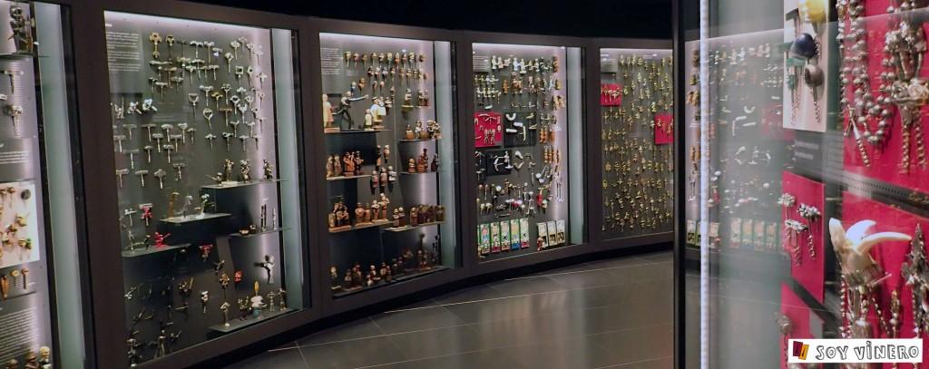 Sala 5. Abrir, servir y beber. Museo Vivanco de la Cultura.