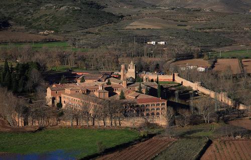 Museo del vino del Campo de Borja enclavado en el Monasterio Cisterciense de Veruela.