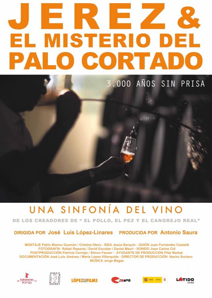 Cartel 'Jerez y el misterio del Palo Cortado' dirigido por José Luis López-Linares.