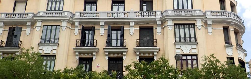 Edificio donde está situado Estrada Design en Madrid.