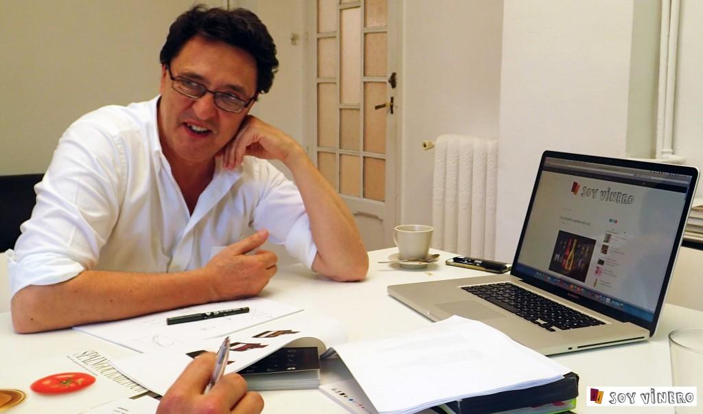 Soy vinero entrevista a Manuel Estrada.