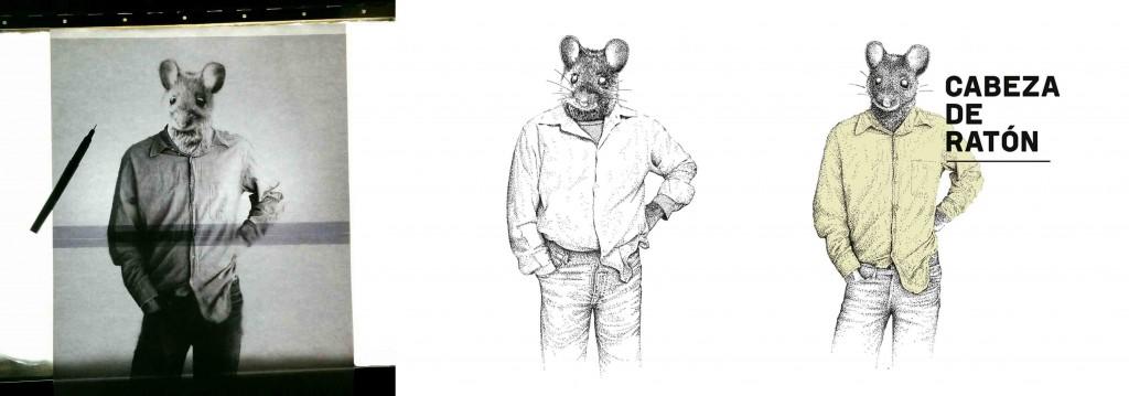 Proceso de creación de Cabeza de Ratón.