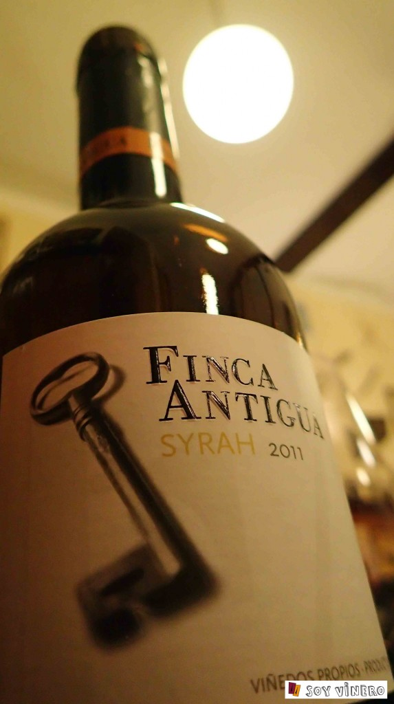 Vino tinto Finca Antigua Syrah 2011. D.O. La Mancha.