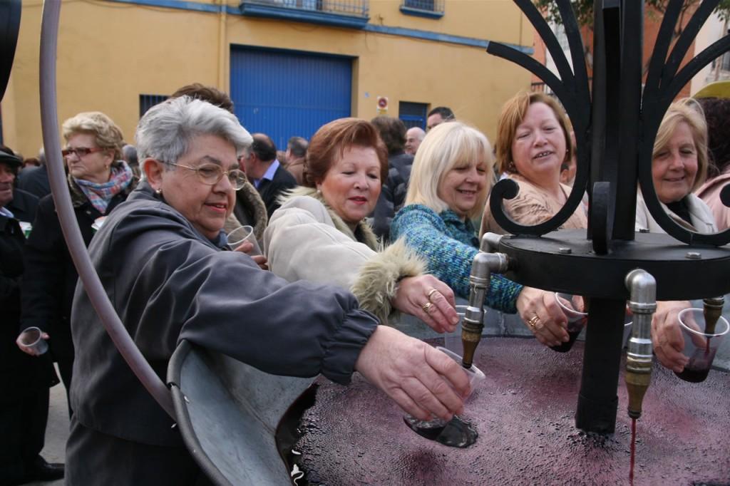 Fuente del Vino en Burriana.