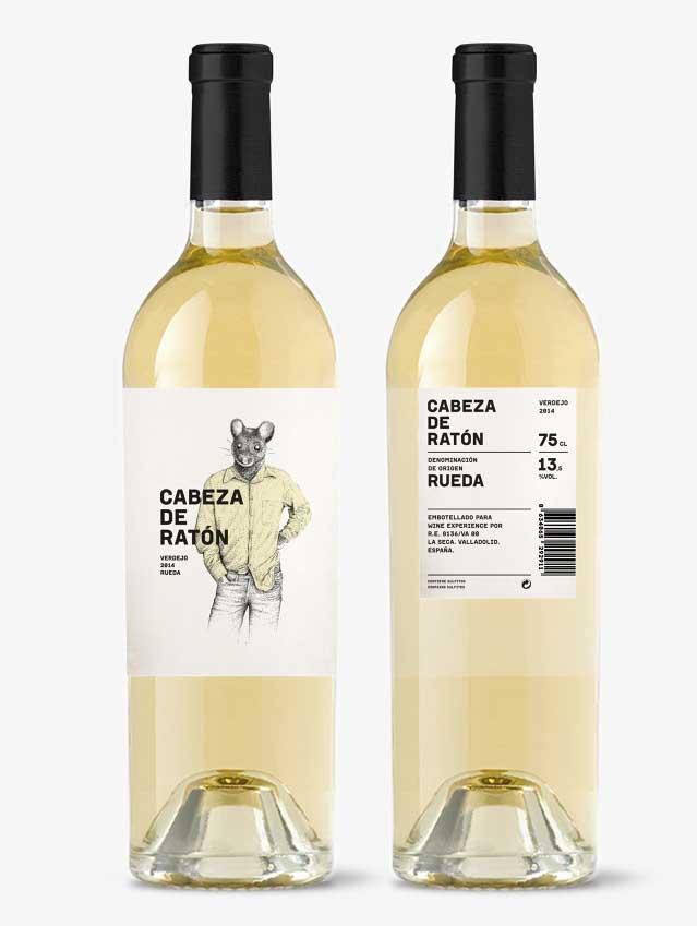 Cabeza de Ratón, embotellado para Wine Experience.