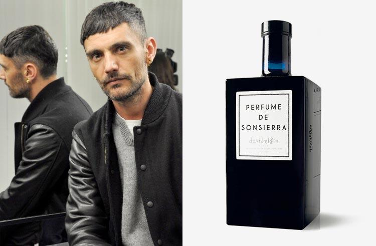 Vino tinto 'Perfume de Sonsierra' diseñado por David Delfín.
