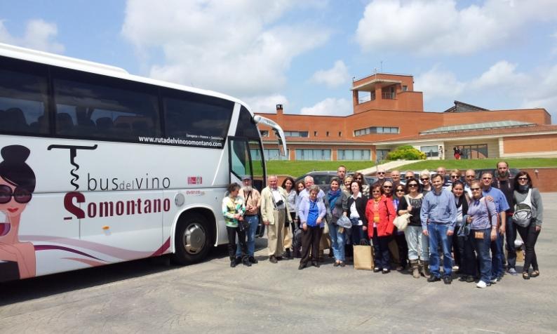 Bus Vino Somontano 2015.