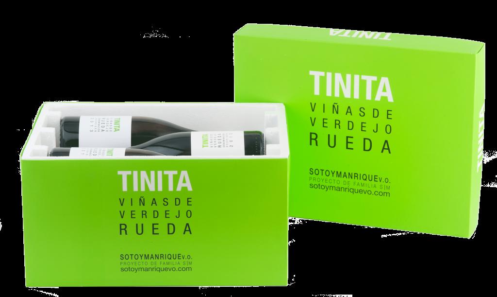 Tinita Verdejo. Soto y Manrique. D.O. Rueda.