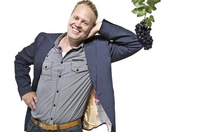 Derrick Neleman crea vinos .