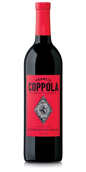 Vino Francis Ford Coppola Red Blend. 'Famous Wine Festival'.