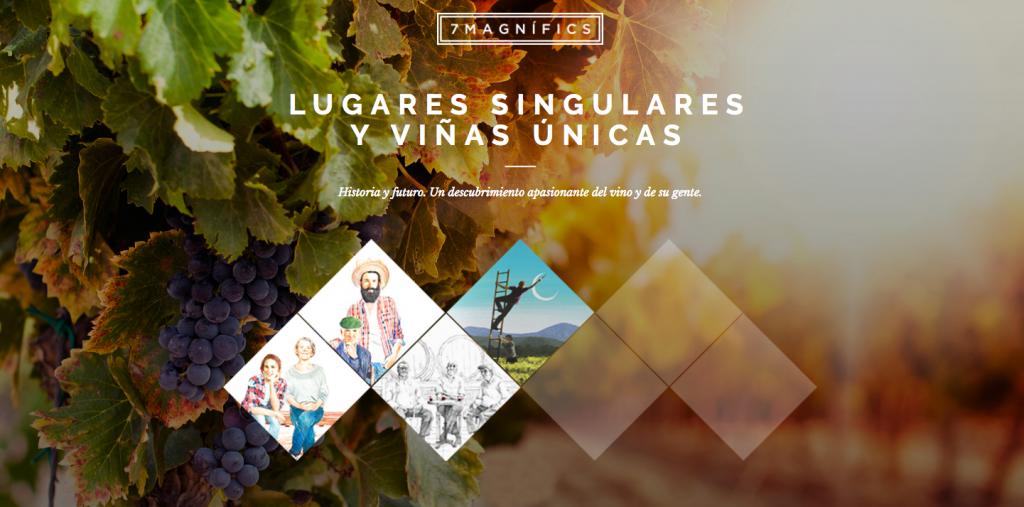 """""""Un descubrimiento apasionante del vino y su gente"""", '7Magnífics'."""