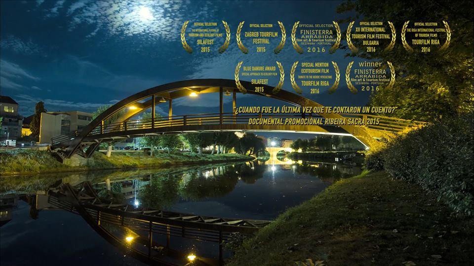 Nominaciones y premios del documental sobre Ribeira Sacra. Némesis Creaciones