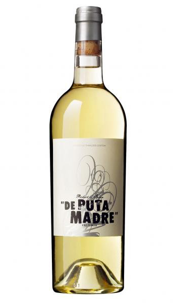 Vino blanco 'De puta madre'. DO Castilla y León.