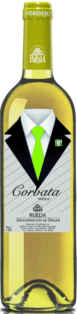 Vino blanco 'Corbata'. DO Rueda.