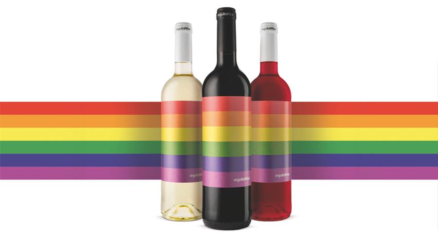 Vinos blanco, tinto y rosado de 'orgulloWine'.