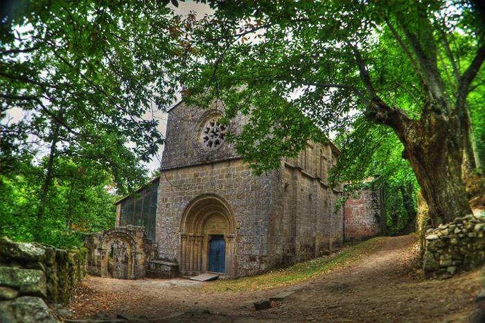 Santa Cristina de Ribas de Sil, Ourense. Foto: Turismo Ribeira Sacra.