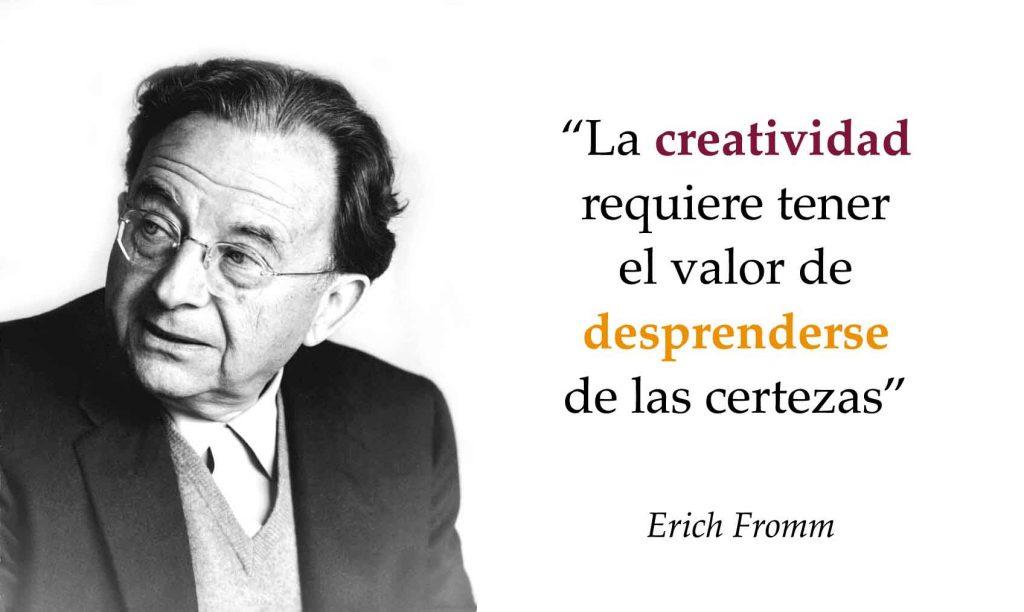 Erich Fromm (1900-1980) fue un destacado psicoanalista, psicólogo y filósofo humanista.