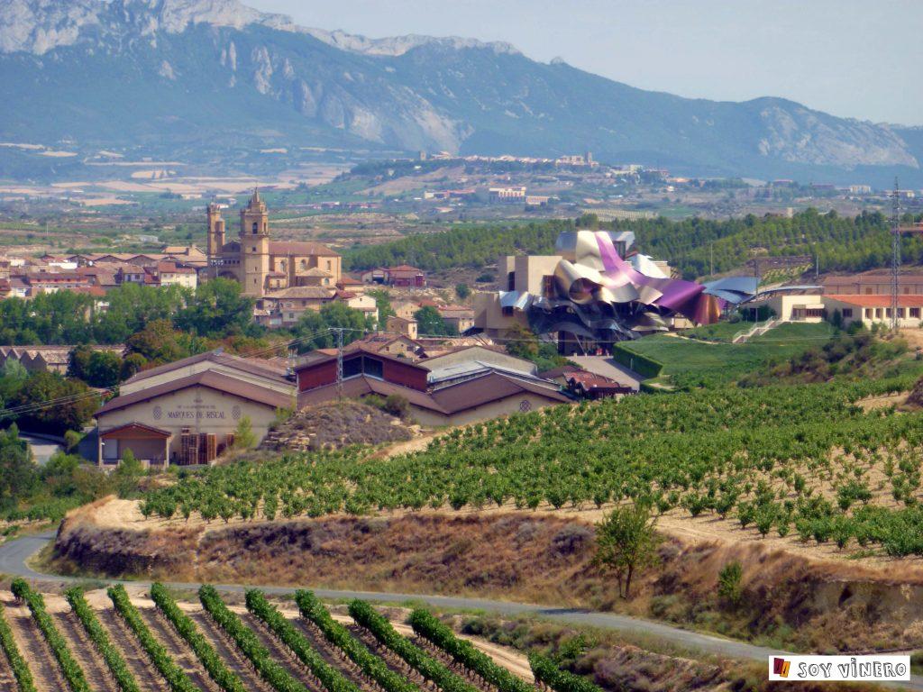 'Bodegas Marqués de Riscal' en el Elciego, ejemplo de arquitectura-icono.