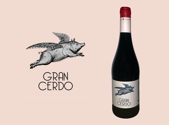 Gran cerdo vino