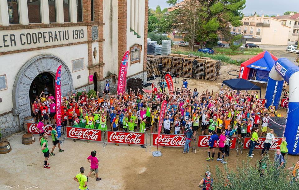 Corredores del Maratón del Priorat de 2015