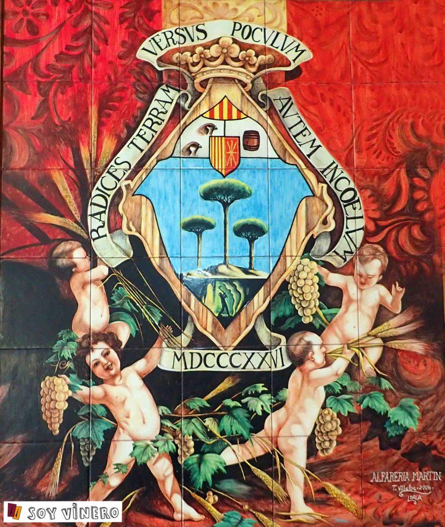 Escudo oficial de Pinoso.