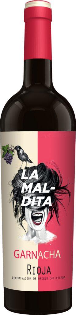 """Botella """"maldita"""" de 'Calcco. Comunicación Visual."""