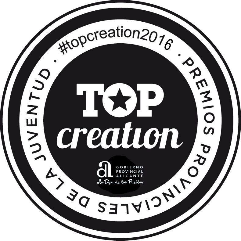Premios Provinciales de la Juventud, Top Creation 2016.