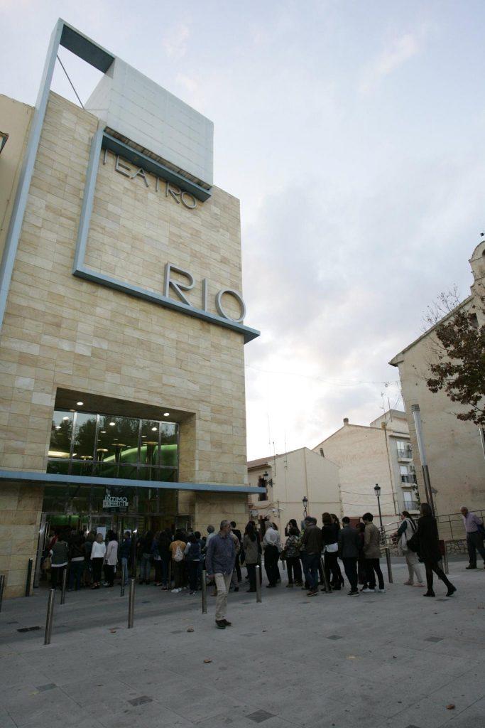 Teatro Río de Ibi, Alicante. Foto: Departamento de Juventud. Diputación de Alicante.