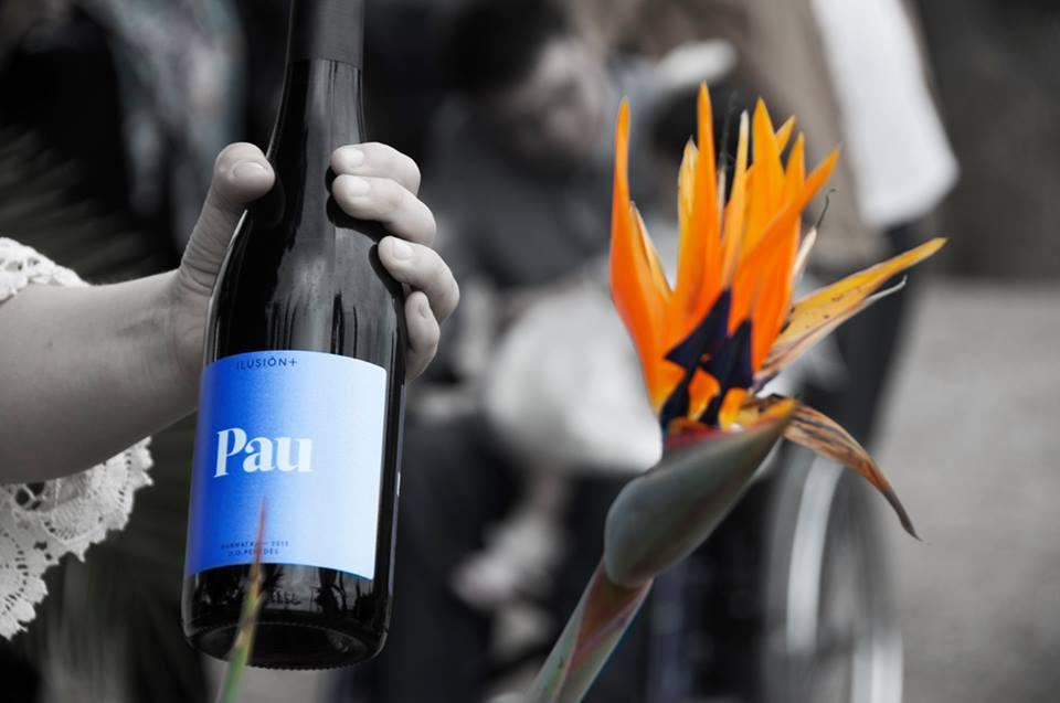 'Pau'. Vinos solidarios ILUSIÓN+.