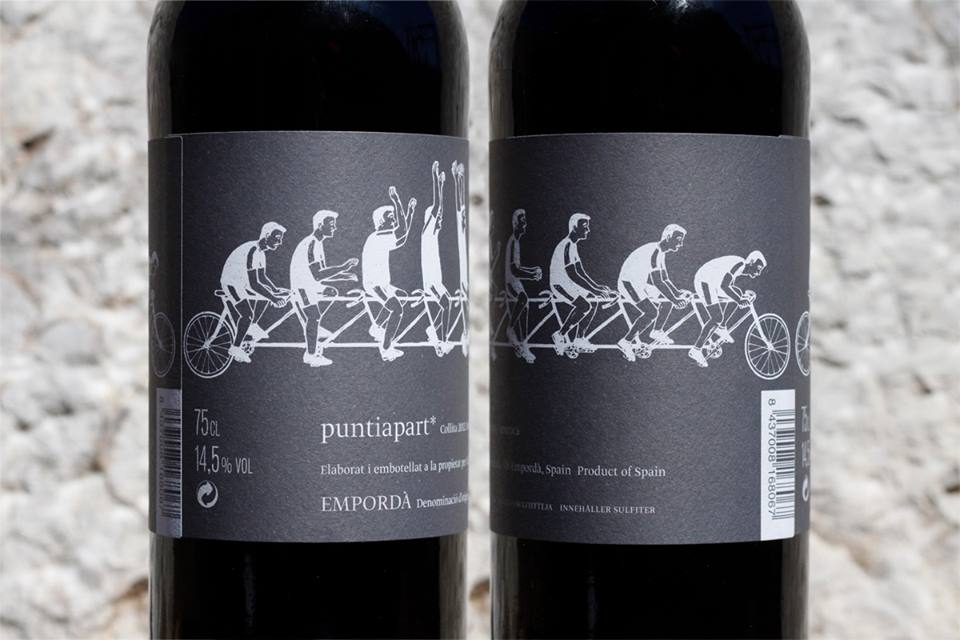 Vino 'Puntiapart' 2012. Bodega La Vinyeta.