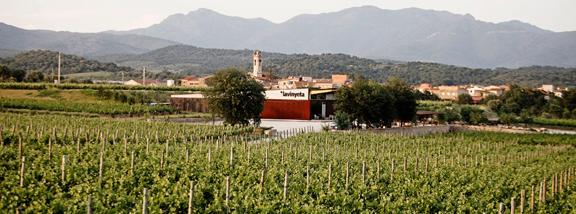 Bodega La Vinyeta. Mollet de Peralada, Girona.