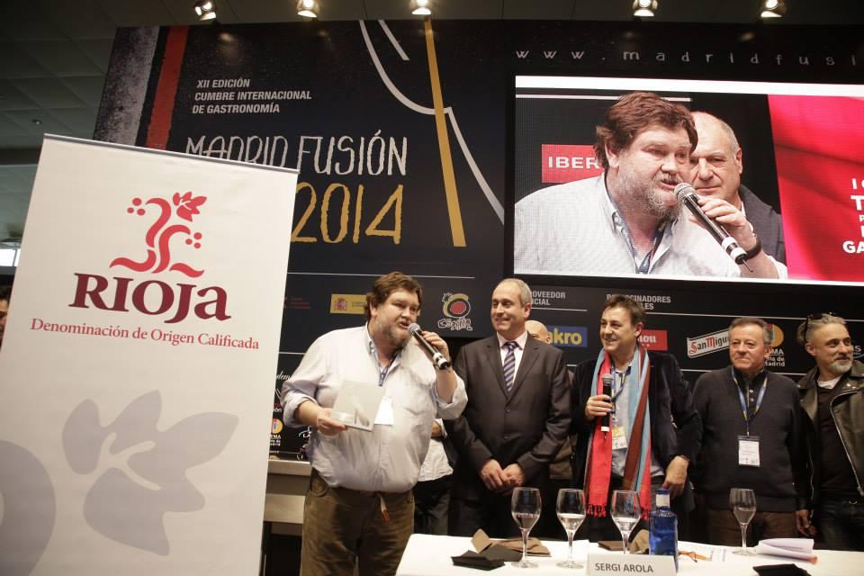 Concurso Internacional Tapas Rioja. Madrid Fusión 2014