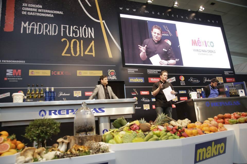 """""""La cocina negra"""". Madrid Fusión 2014."""