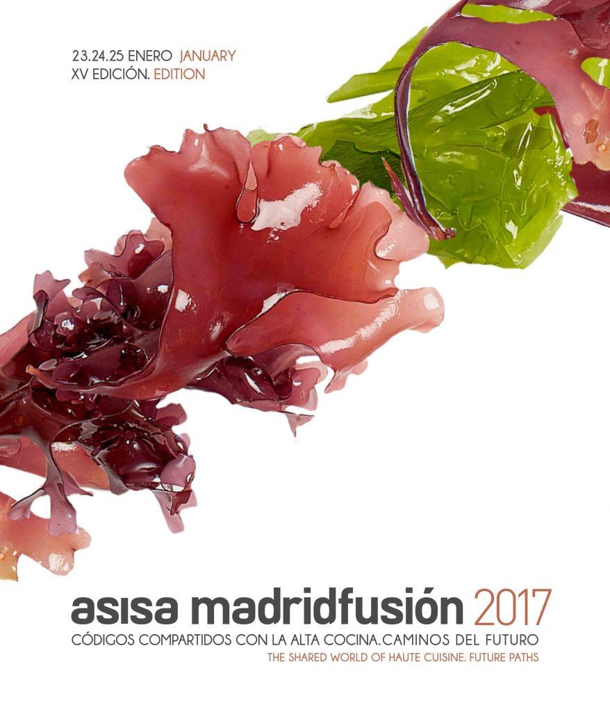 Cartel Asisa Madrid Fusión 2016.