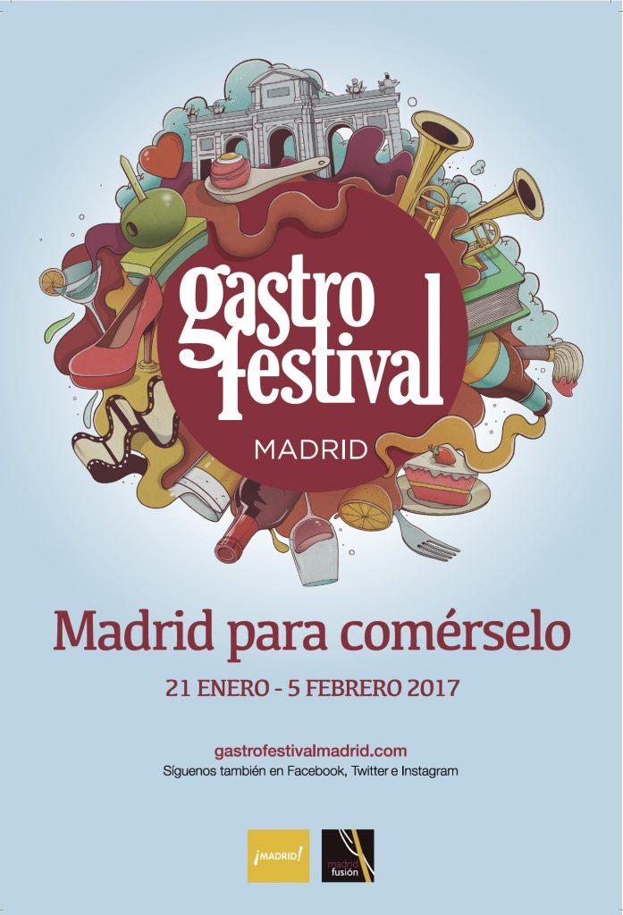 Gastrofestival. Madrid para comérselo del 21 de enero al 5 de febrero.