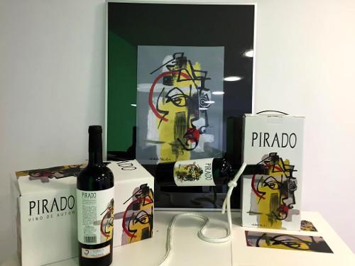 Vino de autor 'Pirado' 2012.