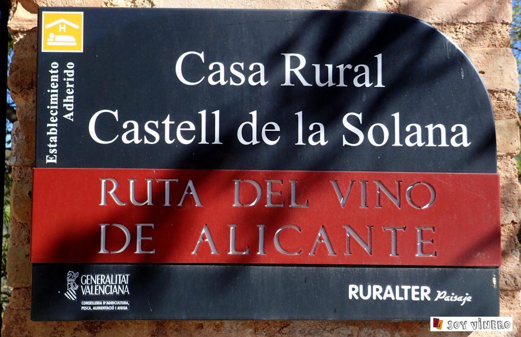 Bodega Finca Collado (Salinas, Alicante).